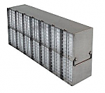 Upright Metal Freezer Racks for 96-Well and 384-Well Microtiter Plates (Capacity: 112-140 Plates)