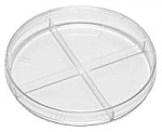 100 x 15 mm Stackable Quad-Plate