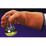 Biohazard Autoclave Gloves, Orange, 1 pair