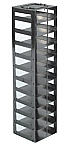 "Mini Vertical Rack for 2"" Boxes (Capacity: 11 Boxes)"