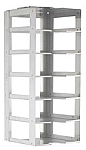 "Vertical Rack for 2"" Boxes (Capacity: 6 Boxes)"