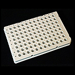 96-Well Semi-Skirt Low Profile PCR Plates, LightCycler® Type, 10 Plates/Pack