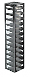 "Mini Vertical Rack for 2"" Boxes (Capacity: 13 Boxes)"