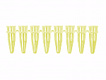 Yellow 8-Strip PCR Tubes