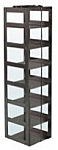 """Mini Vertical Rack for 3"""" Boxes (Capacity: 7 Boxes)"""