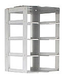 "Vertical Rack for 2"" Boxes (Capacity: 4 Boxes)"