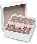 """3"""" Cardboard Freezer Box with Dividers"""