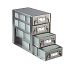 Upright Freezer Drawer Racks for 96 Deep-Well Microtiter Plates and Micronic LOBO Racks (Capacity: 12 Plates)