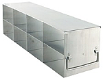 "Upright Freezer Rack for 3"" Boxes (Capacity: 8 Boxes)"