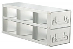 "Upright Freezer Drawer Rack for 3"" Boxes (Capacity: 6 Boxes)"