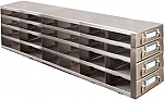 Upright Metal Freezer Drawer Racks for 96-Well and 384-Well Microtiter Plates (Capacity: 72-96 Plates)