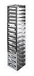 "Vertical Racks with Spring Clip for 2"" Boxes with Locking Rod (Capacity: 15 Boxes)"