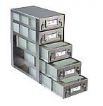 Upright Freezer Drawer Racks for 96 Deep-Well Microtiter Plates and Micronic LOBO Racks (Capacity: 15 Plates)