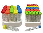 Rainbow Cap Centrifuge Tubes, 500/case