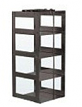 "Vertical Rack for 3"" Boxes (Capacity: 4 Boxes)"