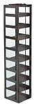 """Mini Vertical Rack for 3"""" Boxes (Capacity: 9 Boxes)"""