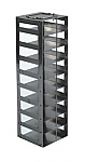 "Mini Vertical Rack for 2"" Boxes (Capacity: 9 Boxes)"
