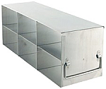 "Upright Freezer Rack for 3"" Boxes (Capacity: 6 Boxes)"